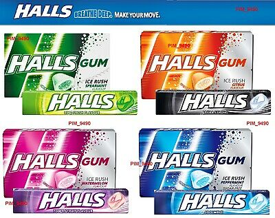 HALLS GUM SPEAM 14G